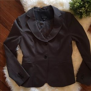 The Limited Women's Gray Brown Blazer Size 6